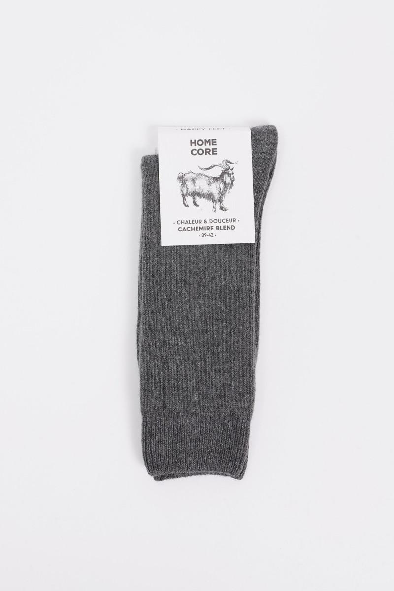 Socks cachemire blend Anthracite