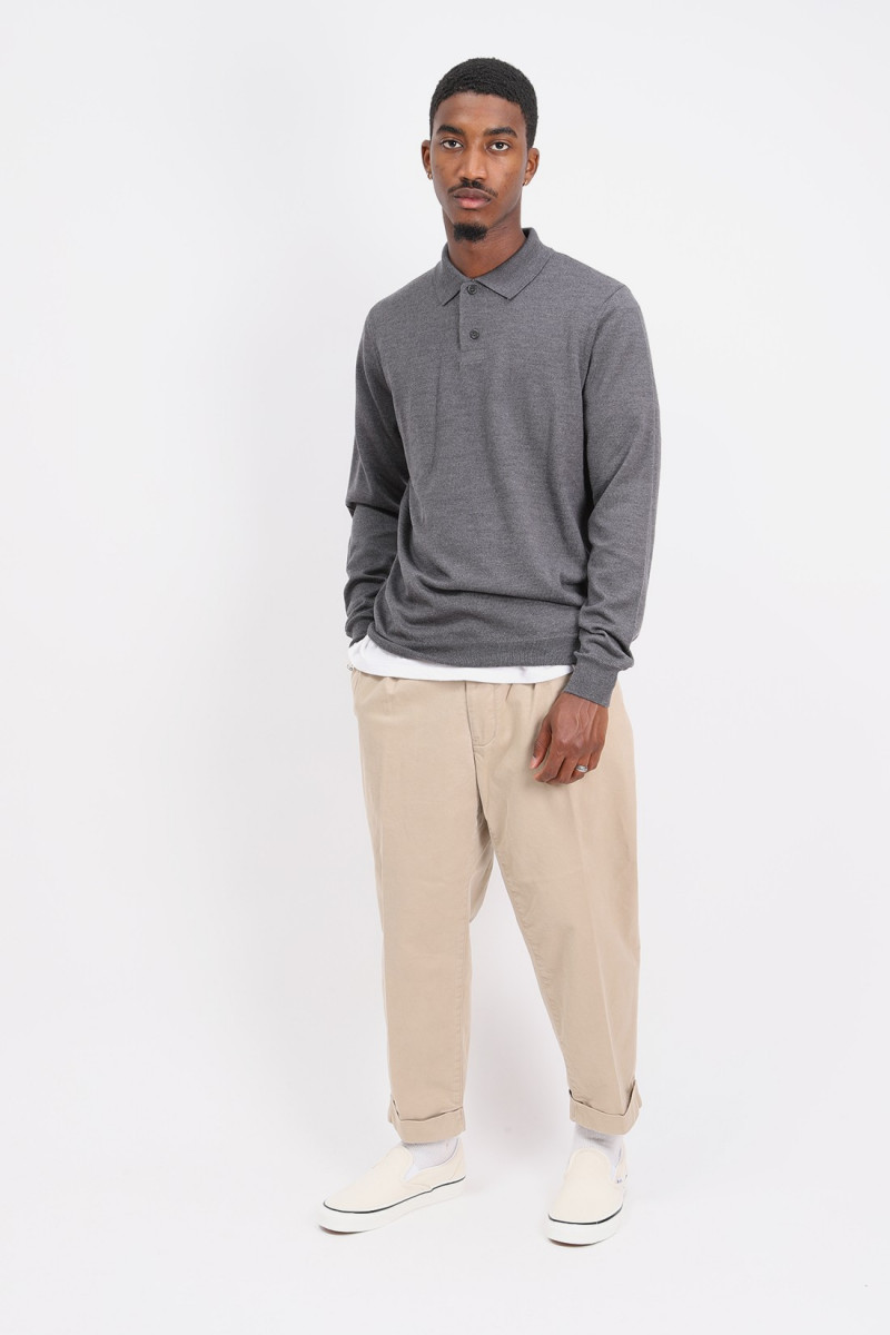 Polo jerry Anthracite