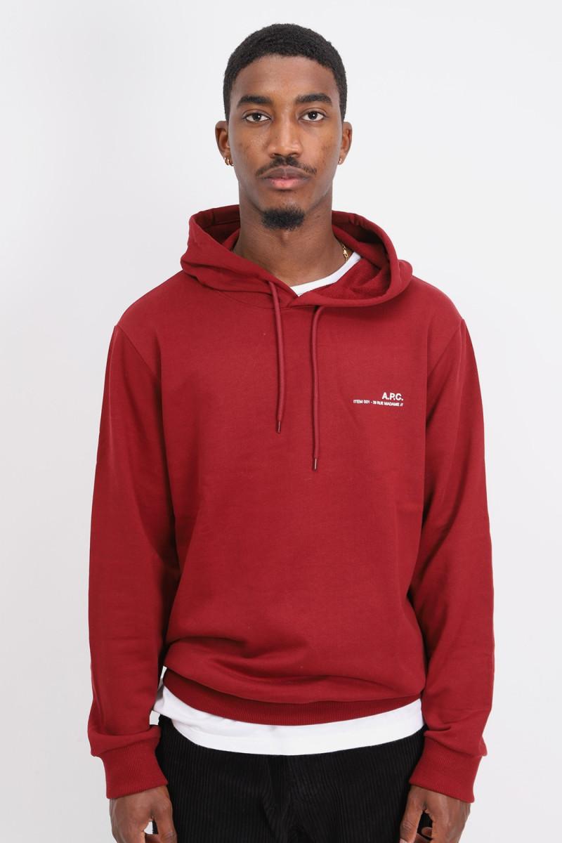 Hoodie item Rouge fonce