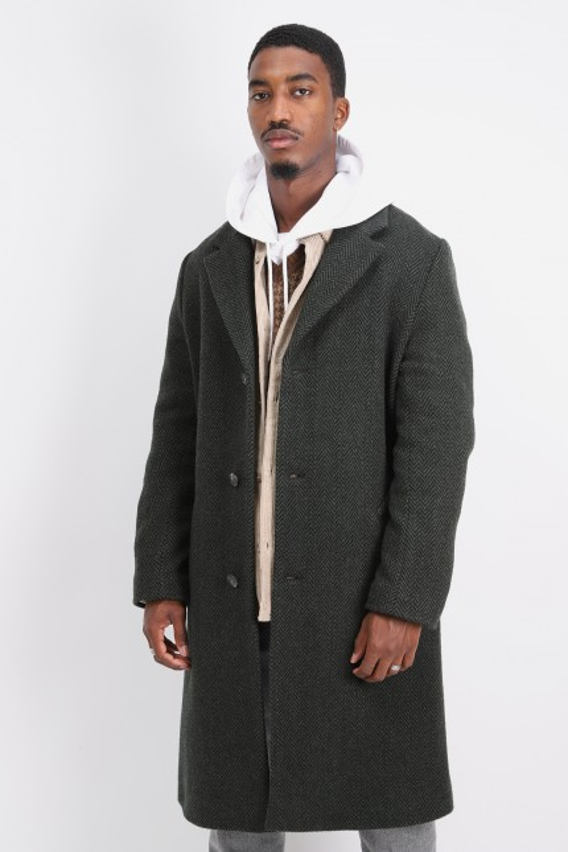 Manteau robin Vert fonce