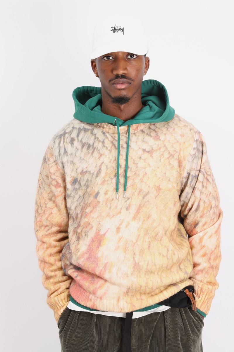 Wings print sweater Multi