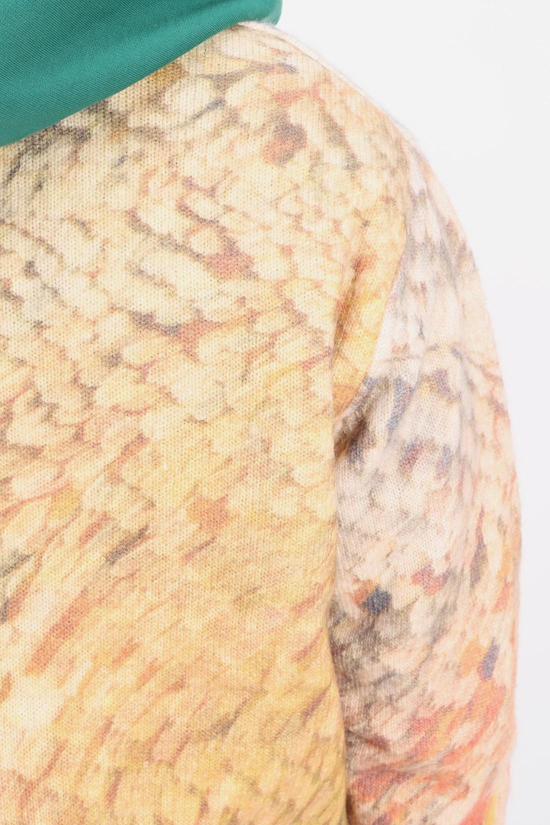 STUSSY / Wings print sweater Multi