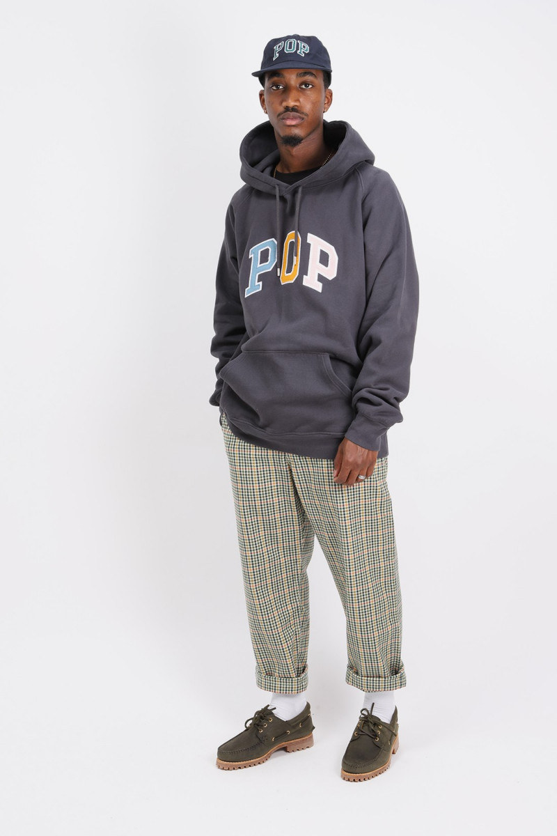 Arch hooded sweat Anthracite