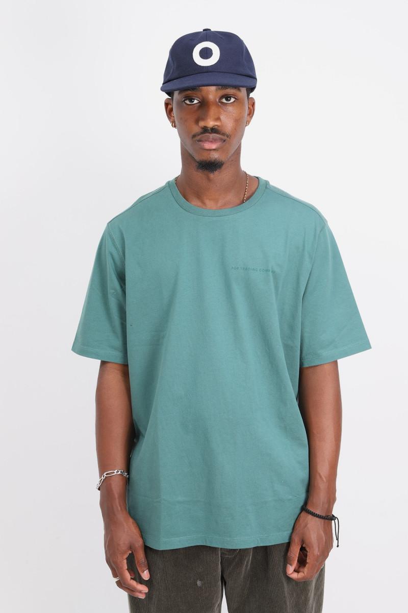 Logo t-shirt Bistro green