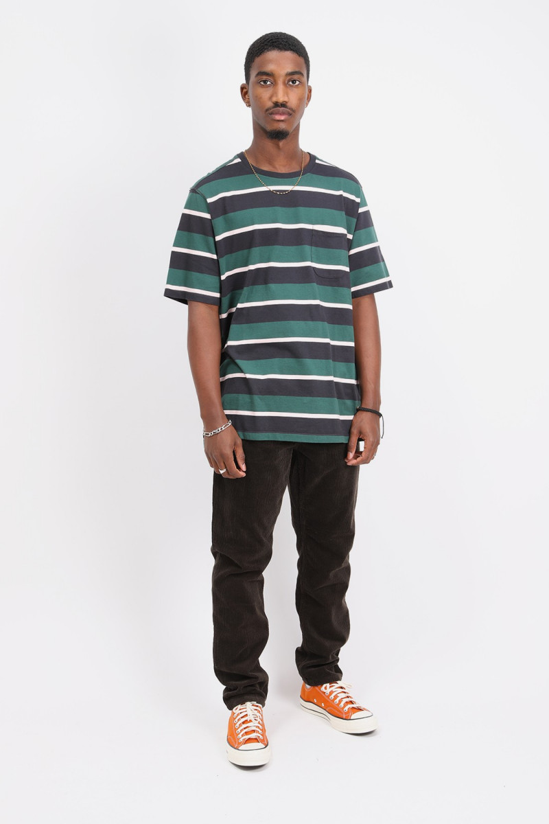 Striped pocket t-shirt Multicolor