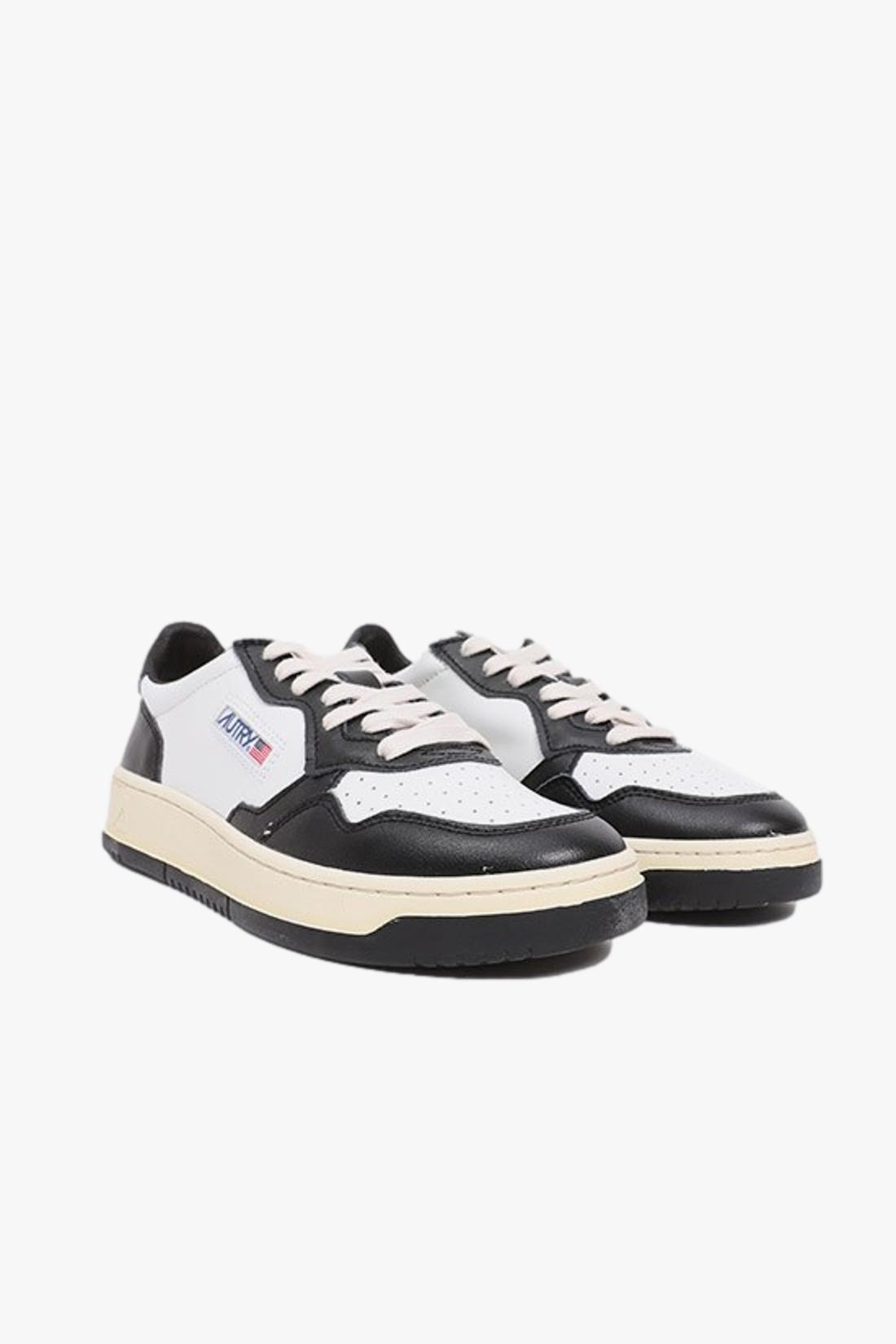 AUTRY / Autry wb01 bicolore White/black