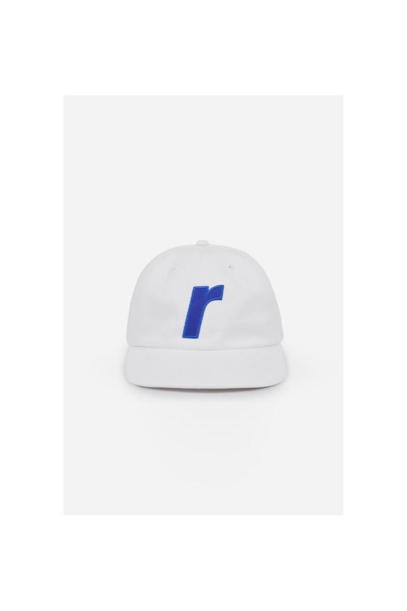 R logo cap White
