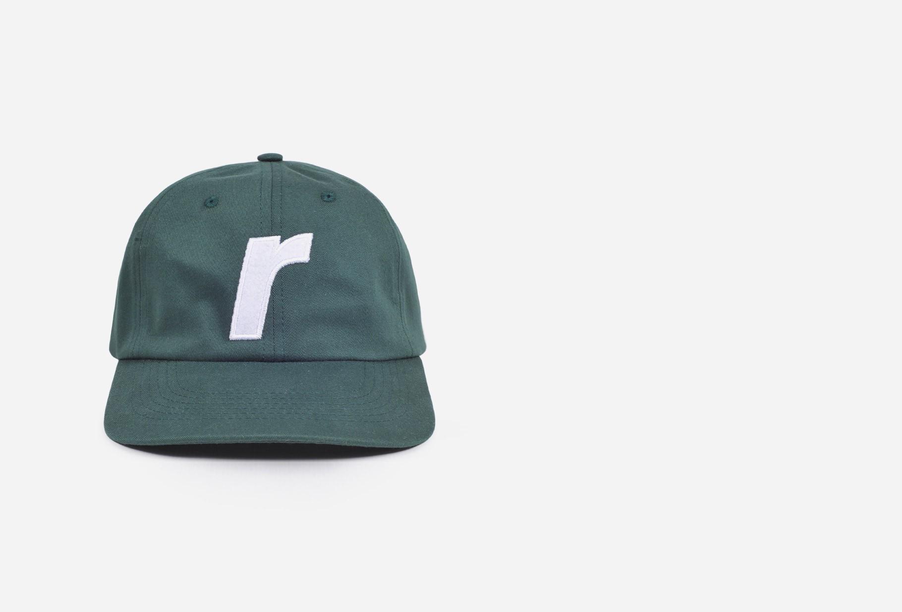 RAVE / R logo cap Forest