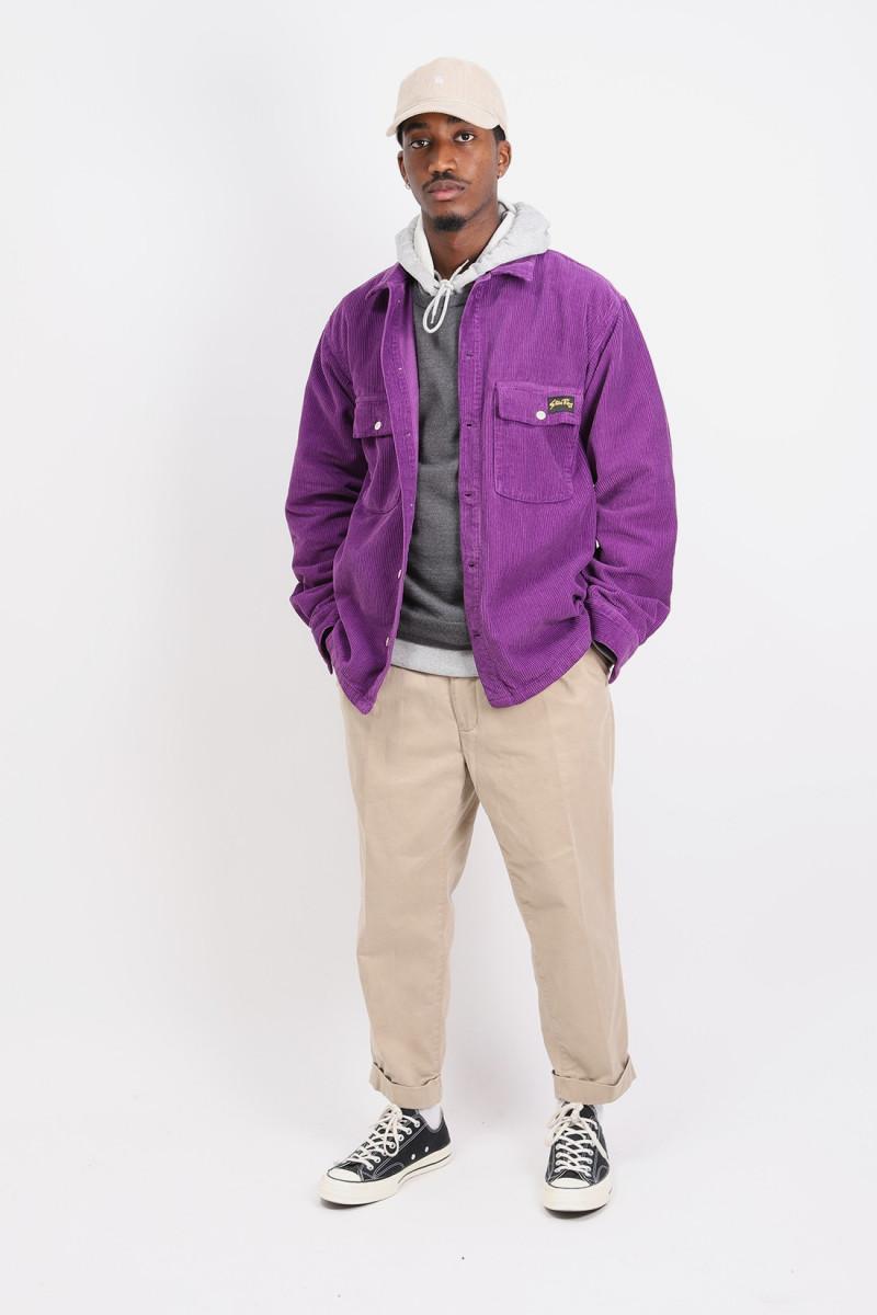 Cpo shirt Purple cord