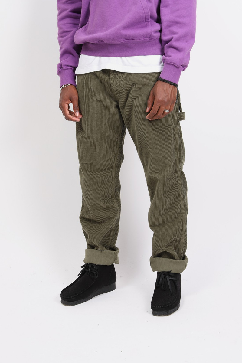 80's painter pant Olive cord