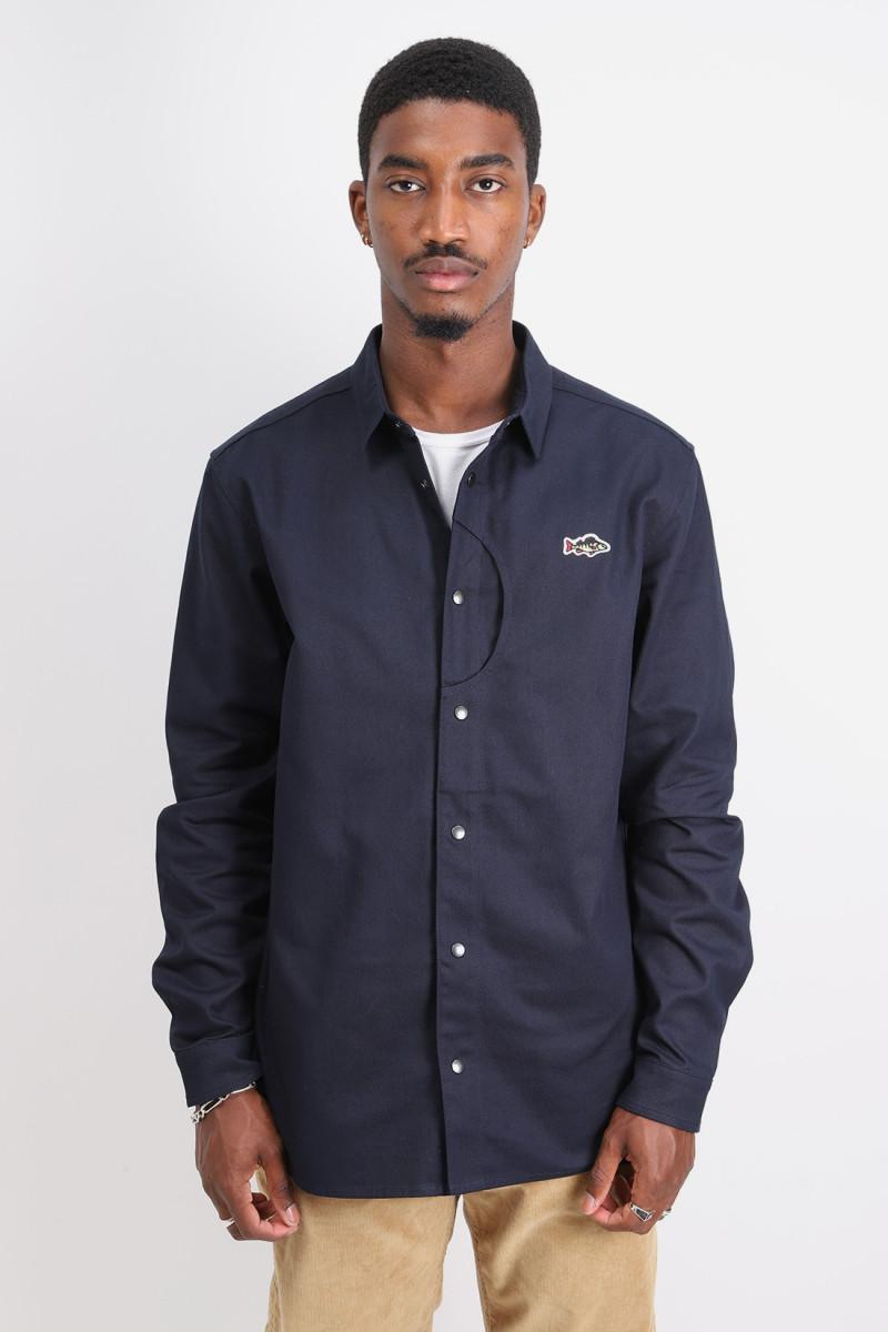 Aborre classic shirt Navy