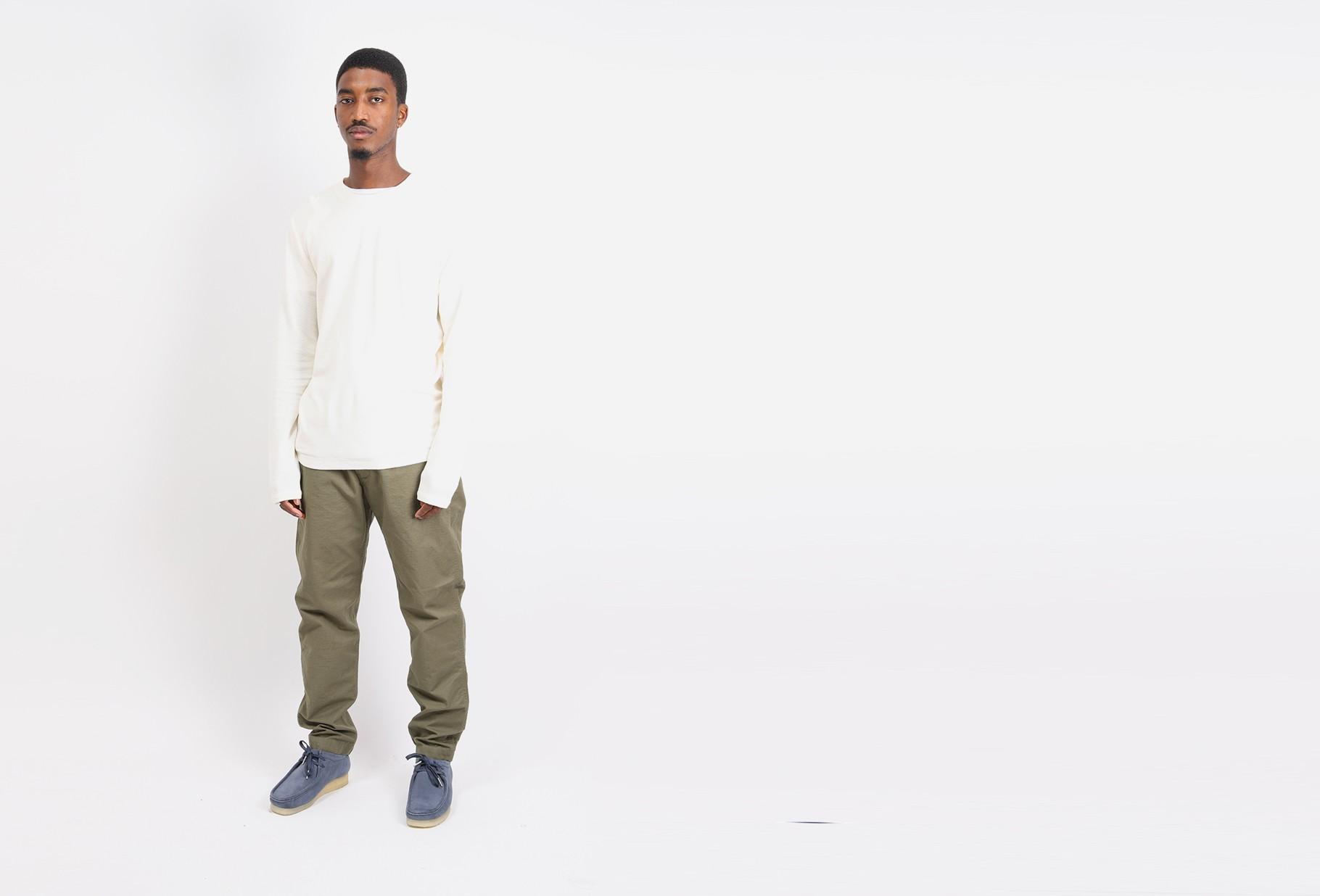 ORSLOW / New yorker pant ripstop Army green