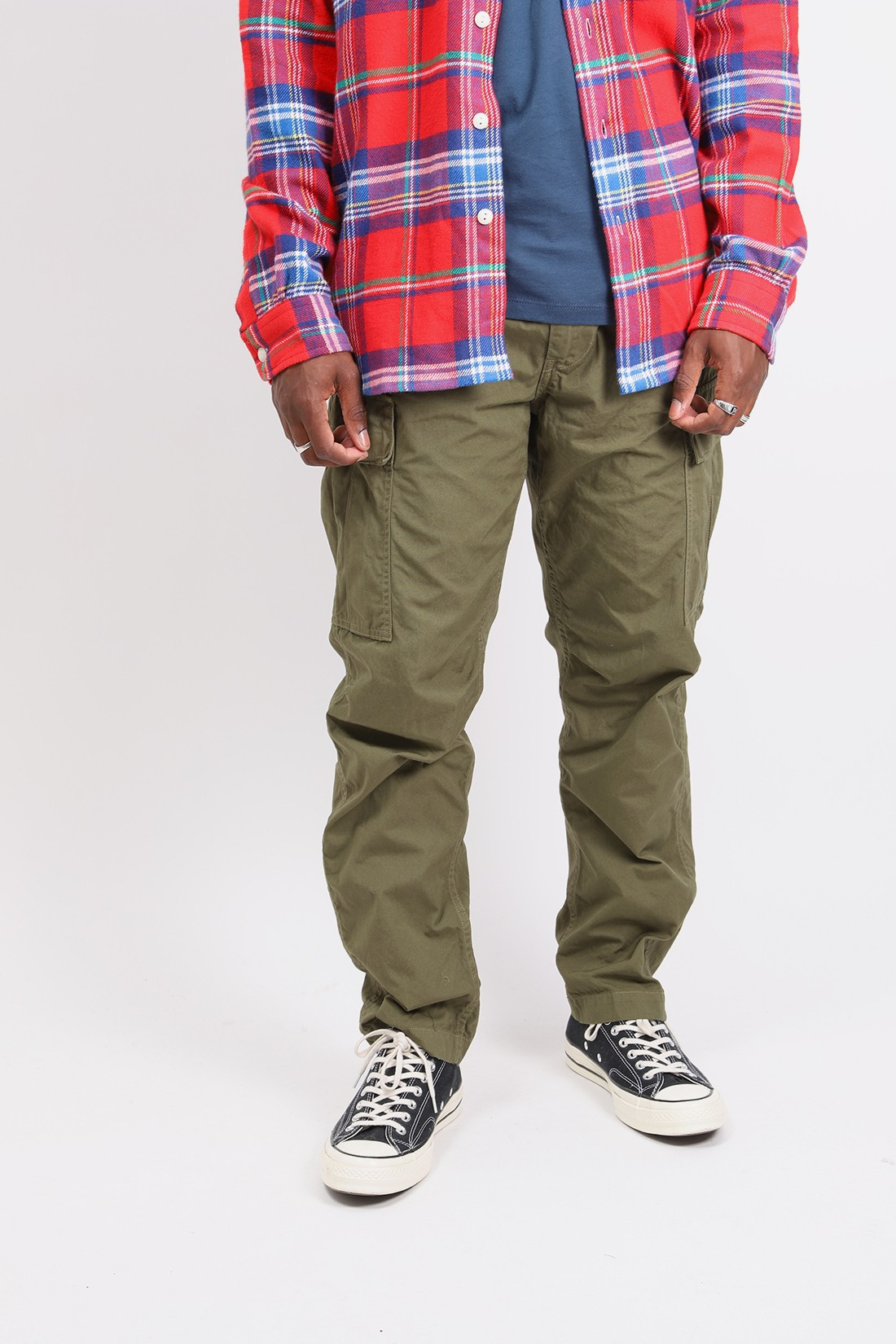 ORSLOW / Easy cargo pant Army green