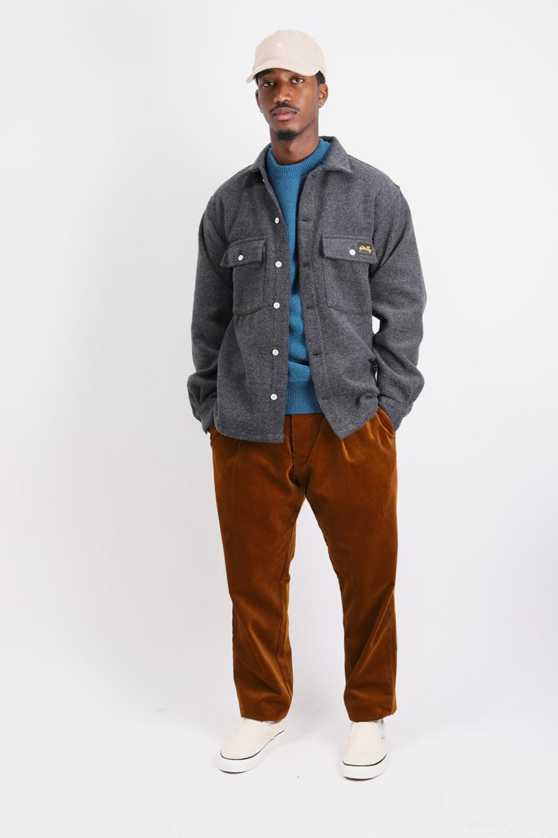 Cpo shirt Mid grey wool
