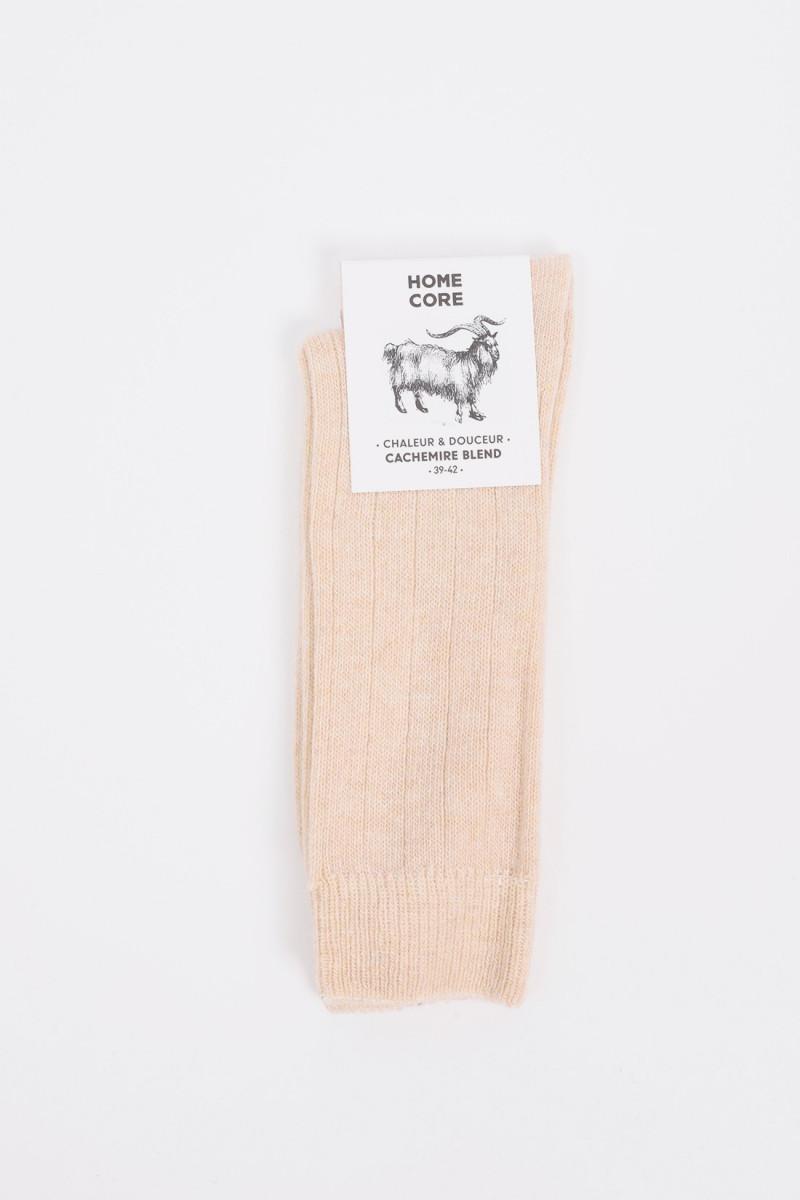 Socks cachemire blend Cream