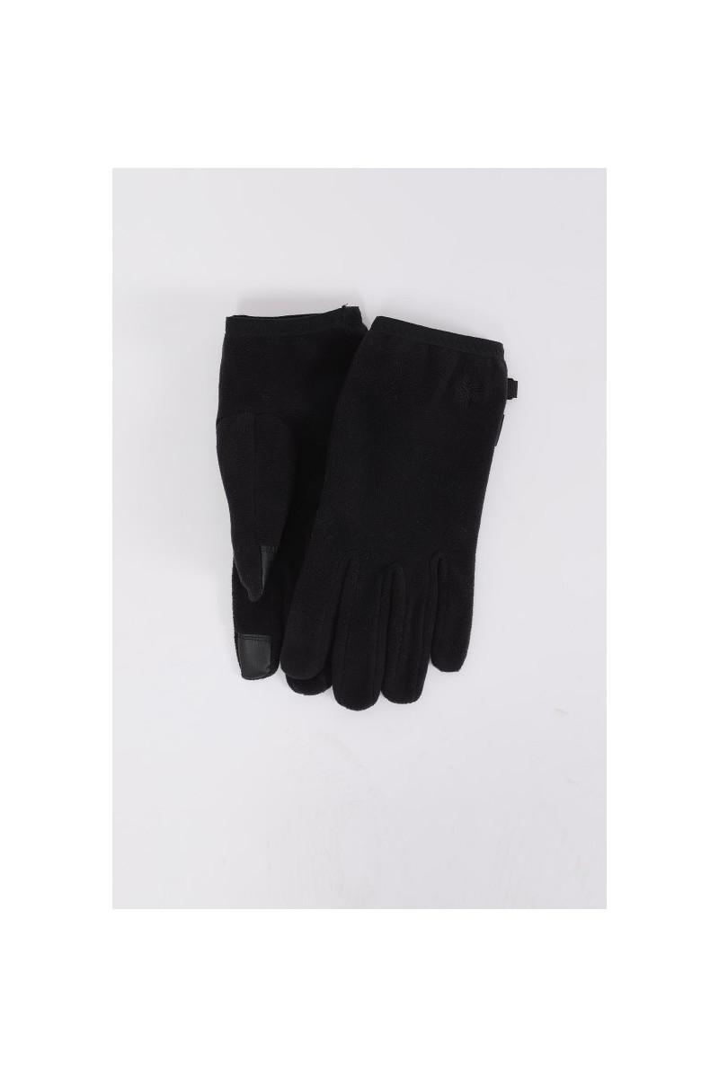 Micro fleece gloves Black