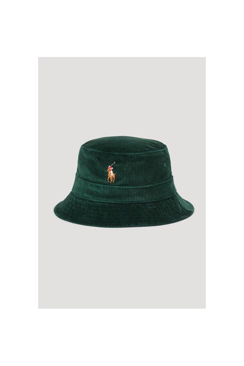 Loft bucket hat corduroy Green