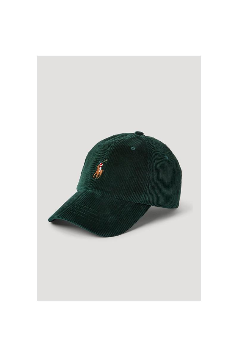 Classic sport cap corduroy Green