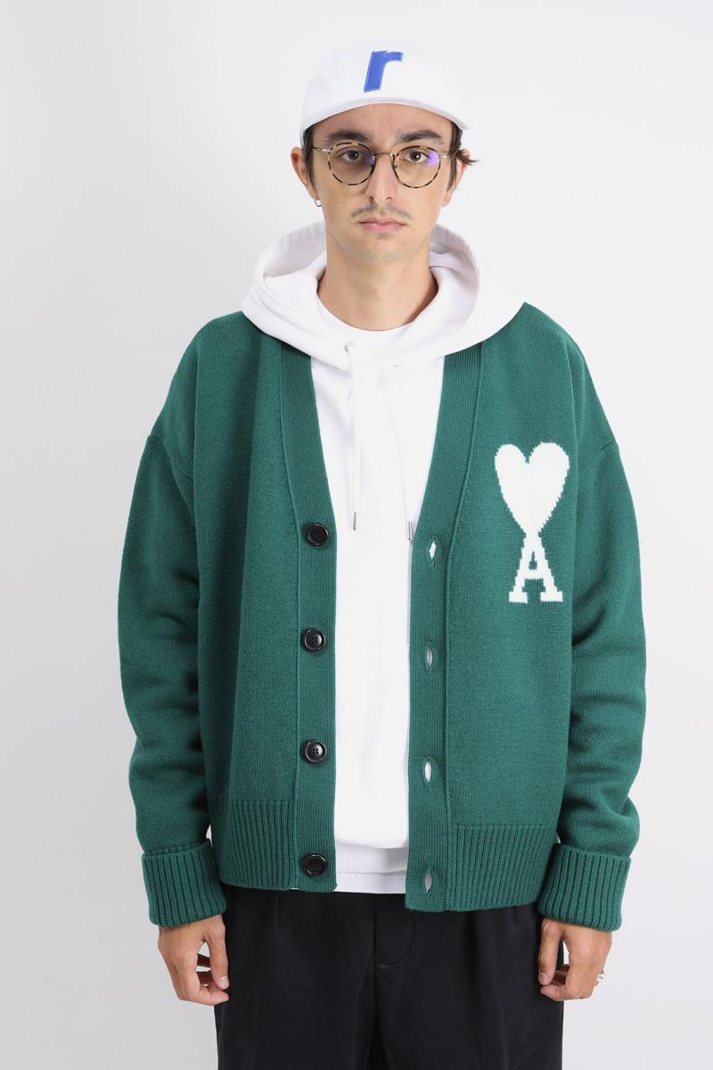 Cardigan ami de coeur oversize Green