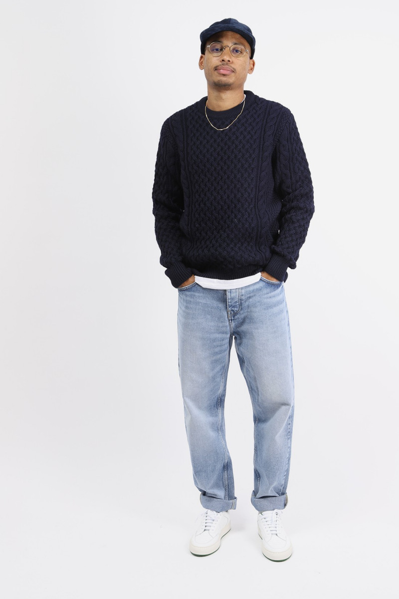 Pull cable jumper Navy