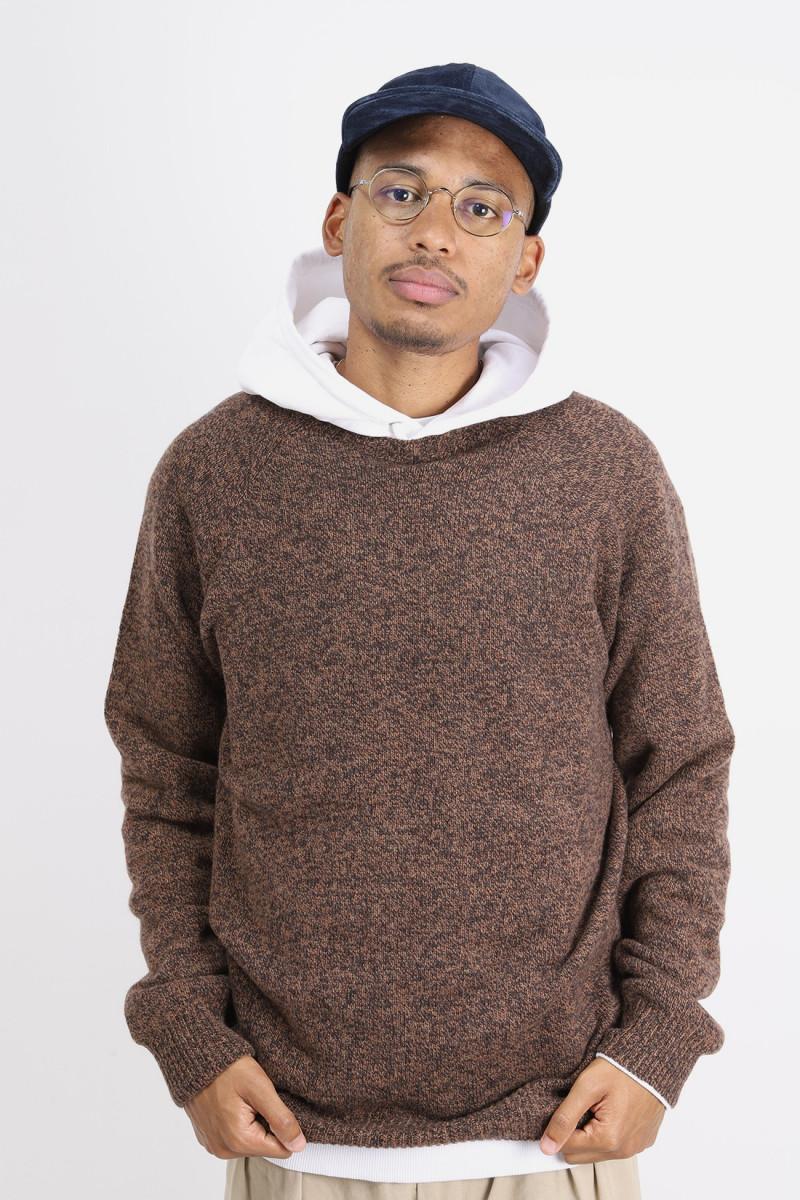 Crewneck sweater Caramel twist