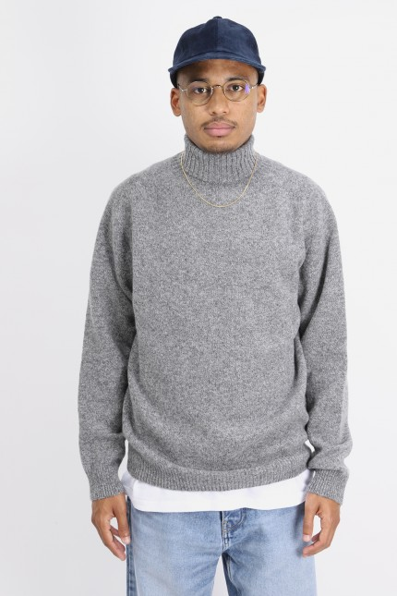 Rollneck sweater Mid grey