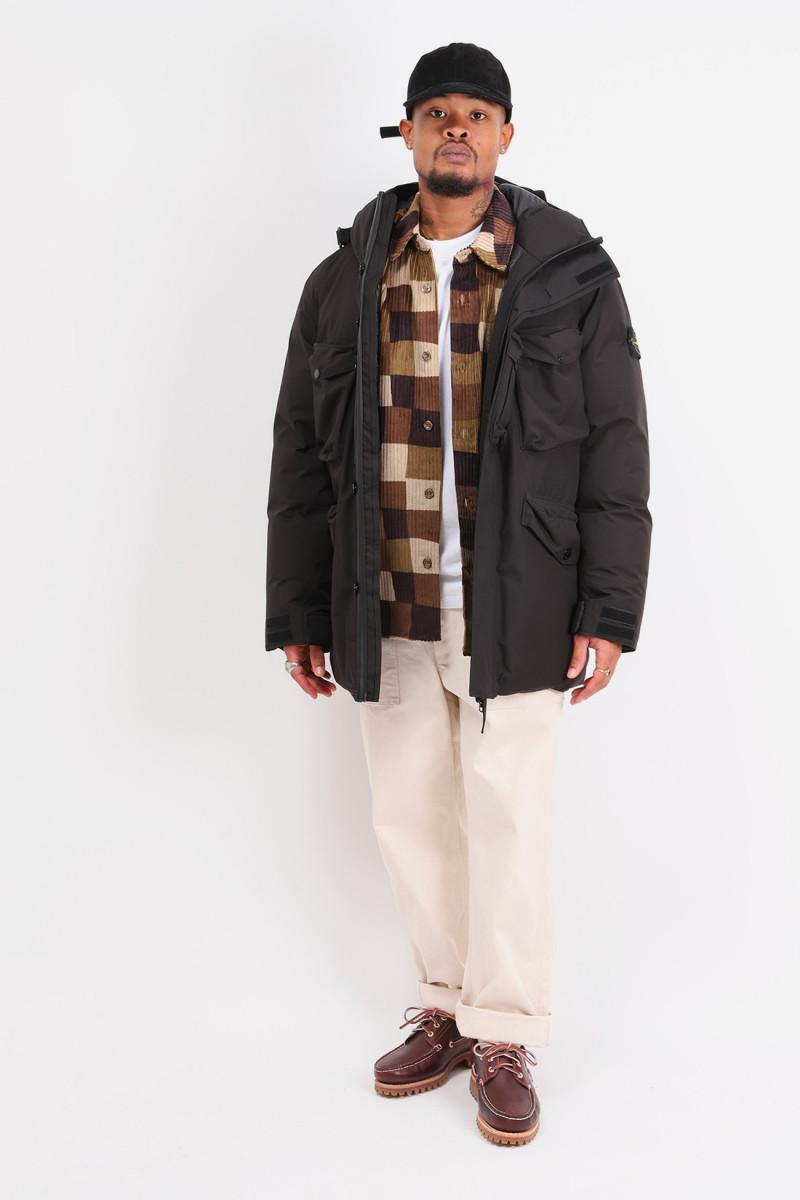 40330 ripstop gtx down jacket V0029 nero