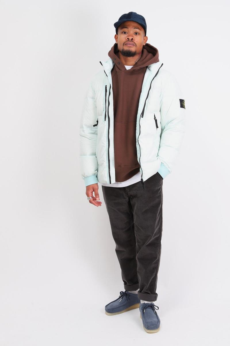 40223 real down jacket v0052 Verde chiaro