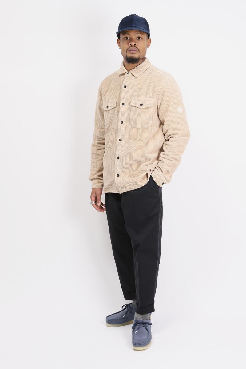 12111 corduroy shirt v0082 Rosa antico