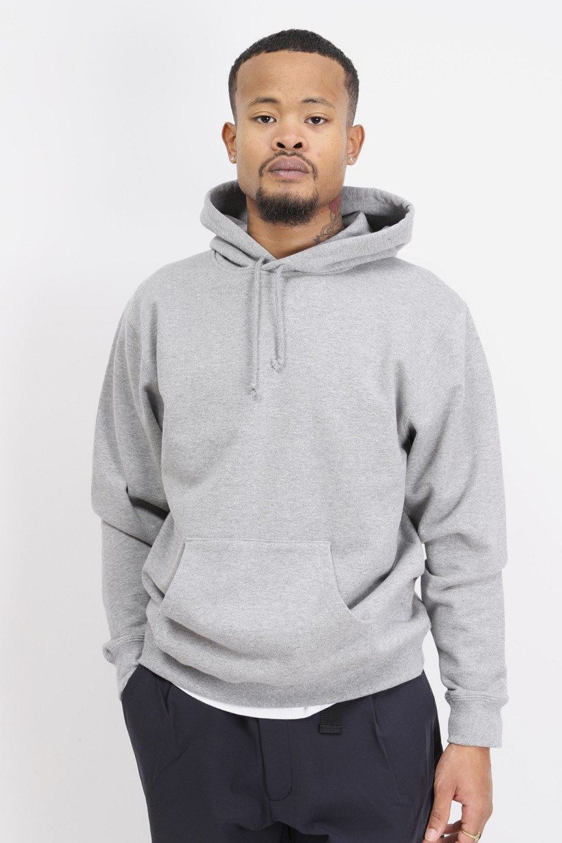Sweat pullover hooded Grey
