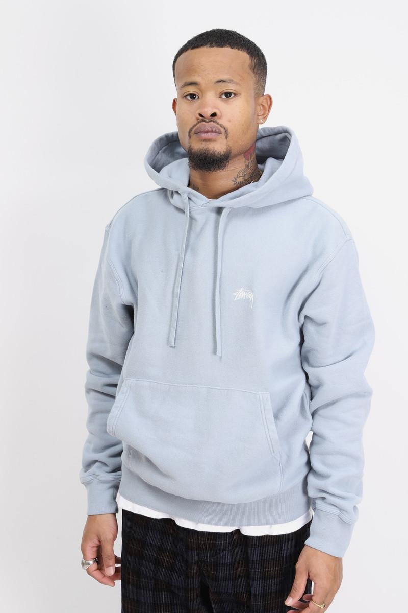 Overdyed hoodie Slate