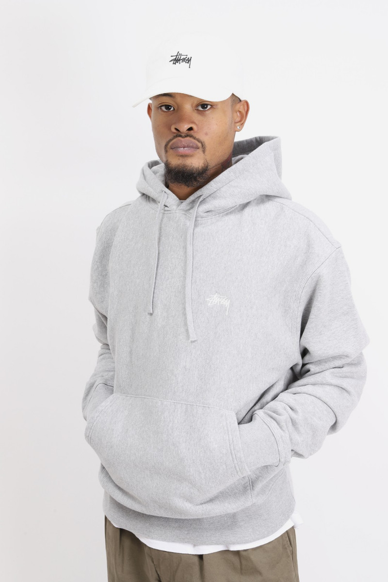 Overdyed hoodie Grey heather