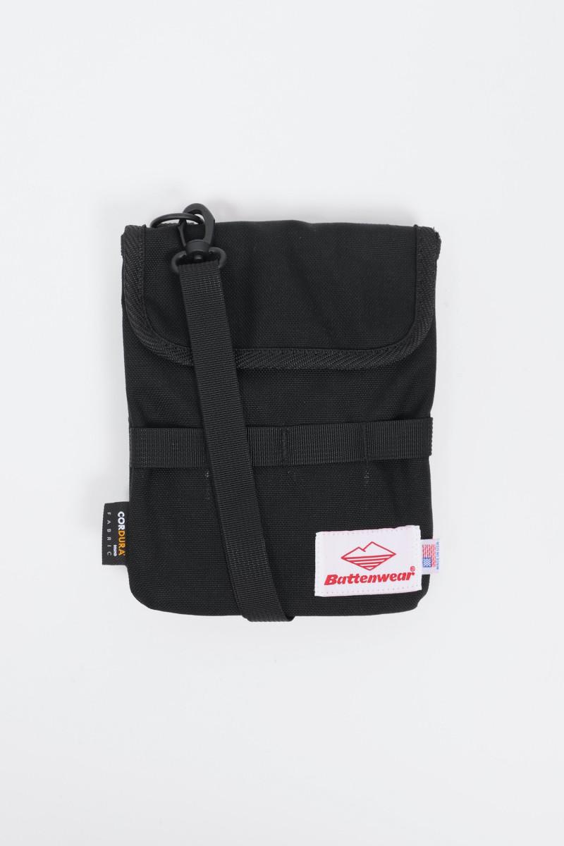Travel pouch v.2 cordura nylon Black