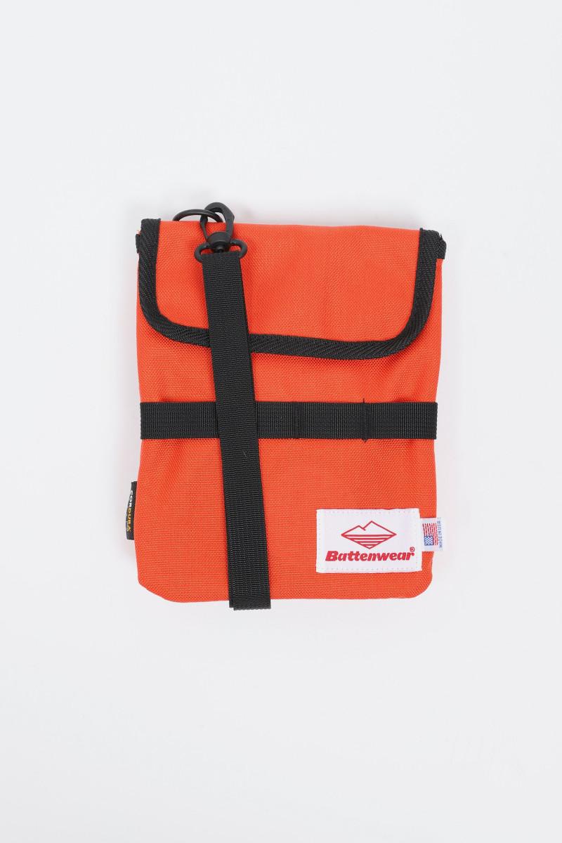 Travel pouch v.2 cordura nylon Orange