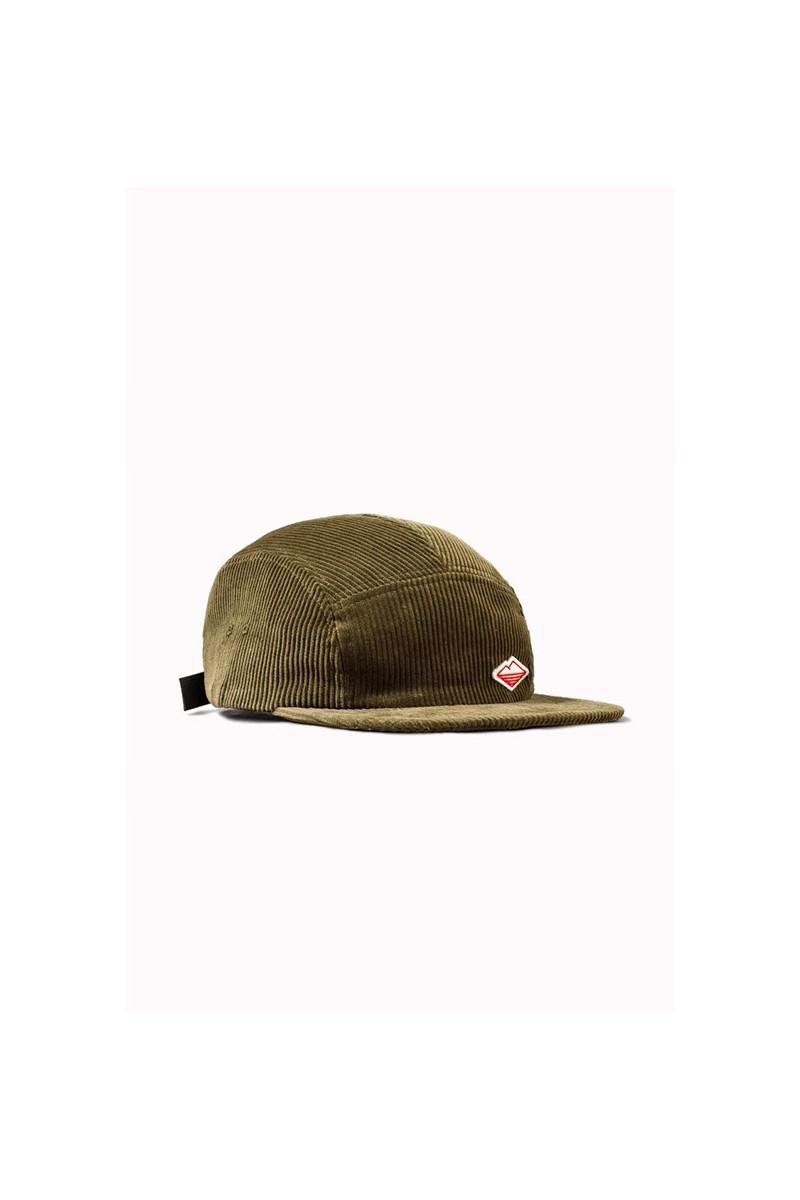 Travel cap corduroy Olive
