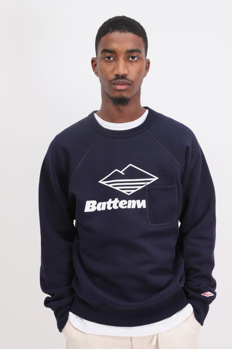 Team reach-up sweatshirt Midnight navy