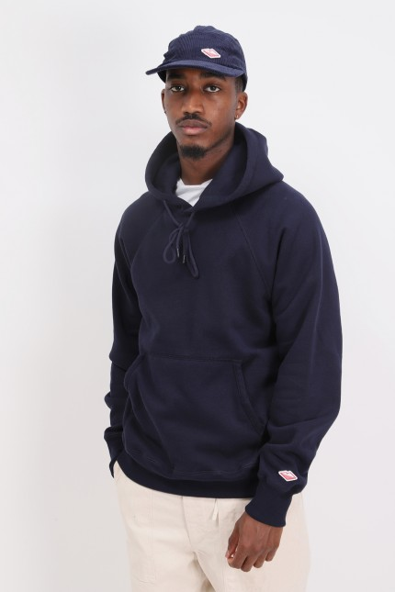 Reach-up hoodie Midnight navy