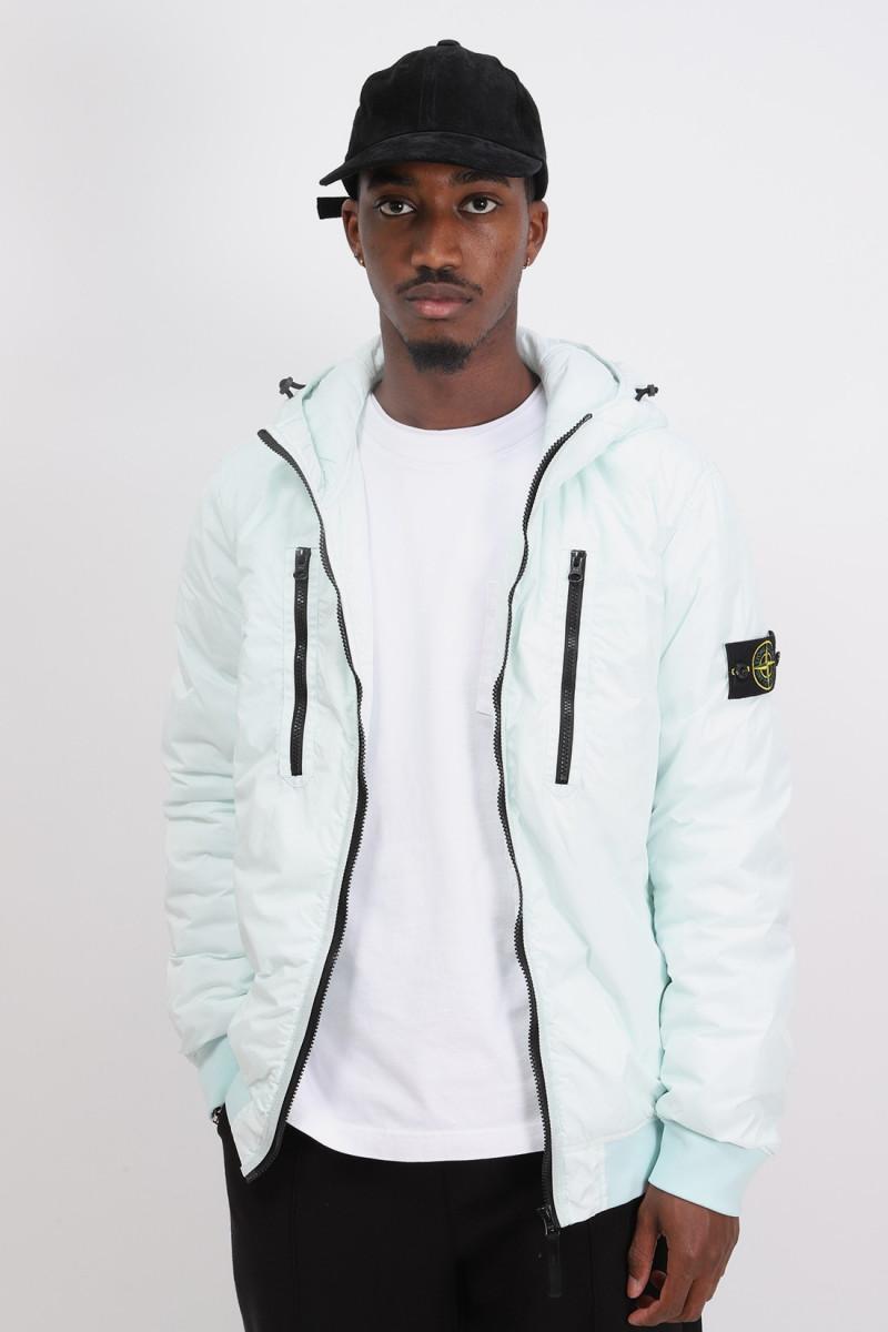 42223 hooded jacket v0052 Verde chiaro