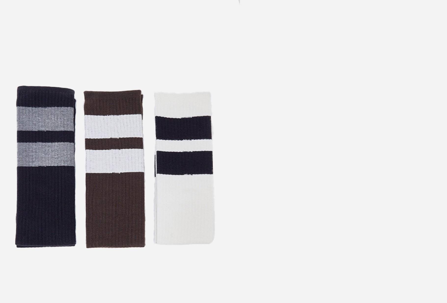 NEIGHBORHOOD / Classic 3pac long / ca-socks Multi