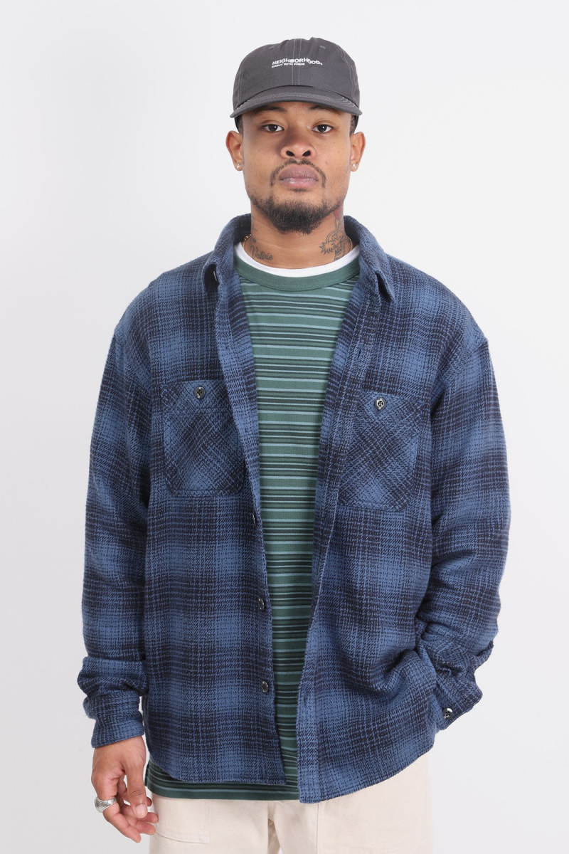 Lumbers / c-shirt . ls Blue