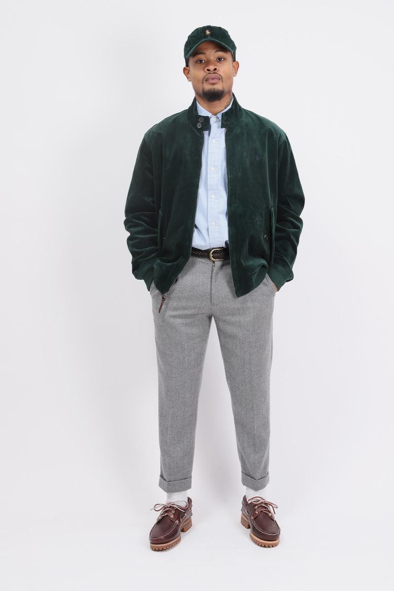 Barracuda cord lined jacket Green