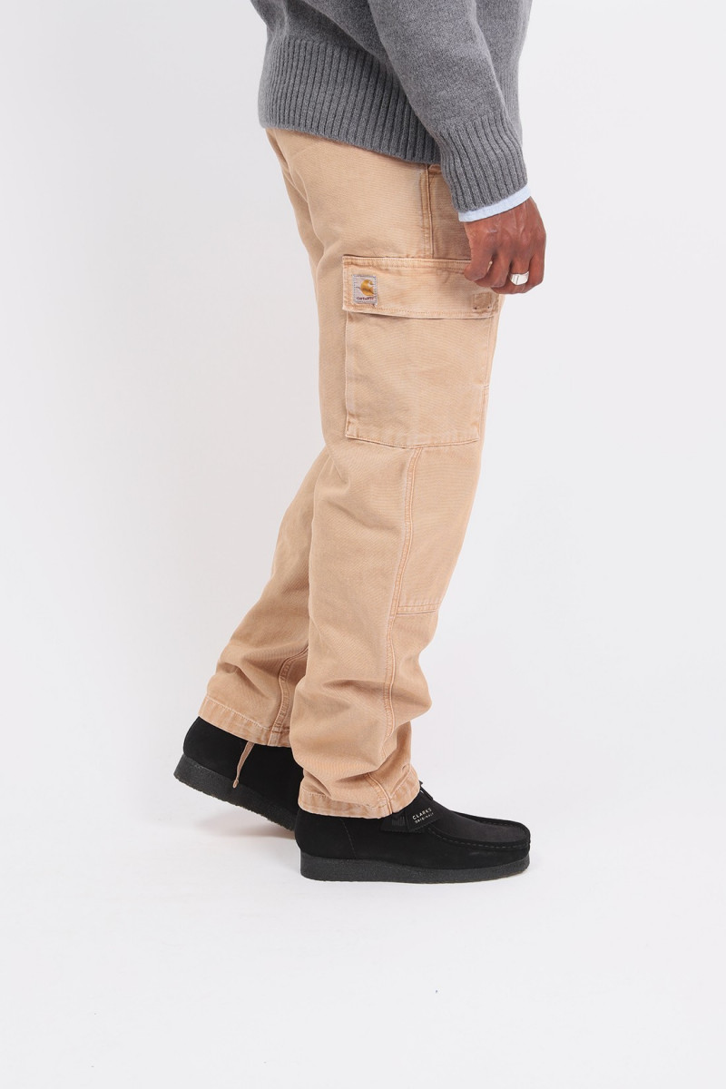 Keyto cargo pant Dusty h brown