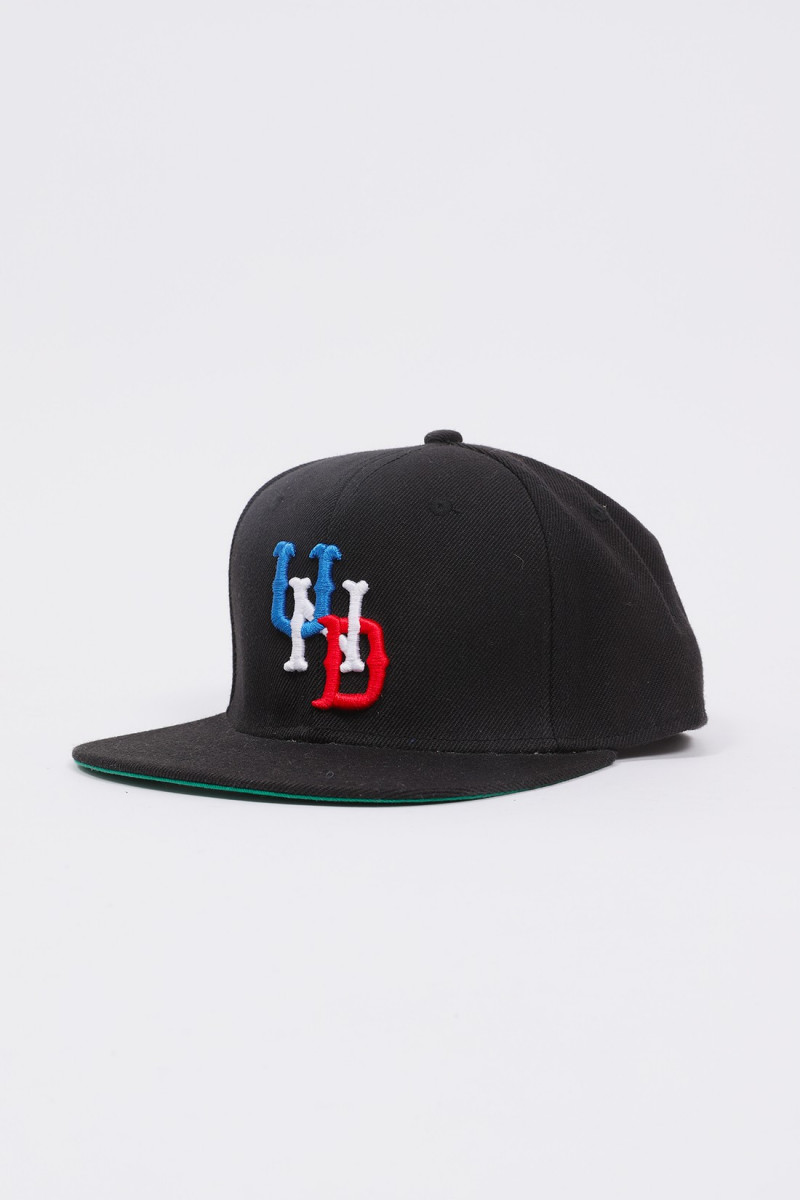 Uf und team snapback ballcap Black