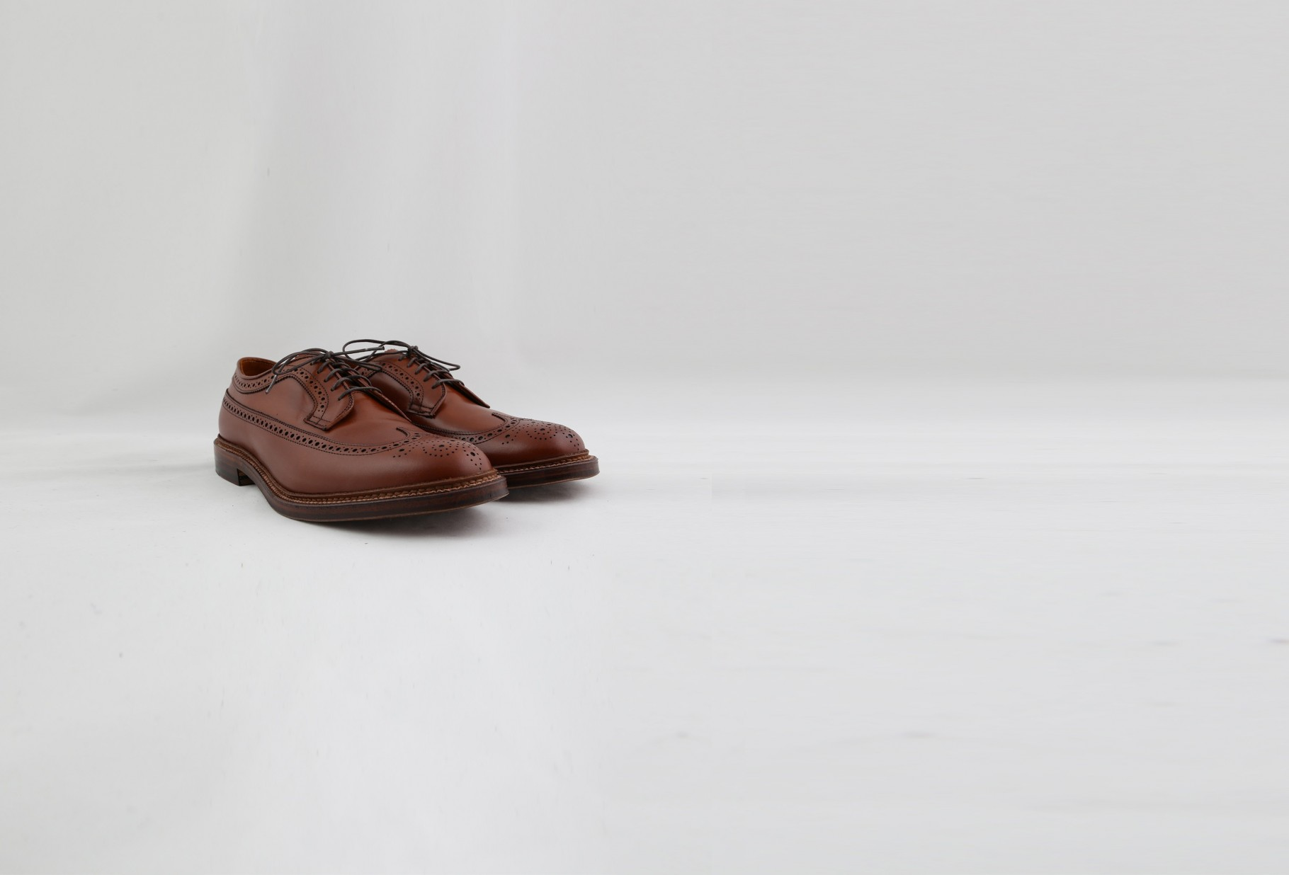 979 long wing blucher Tan