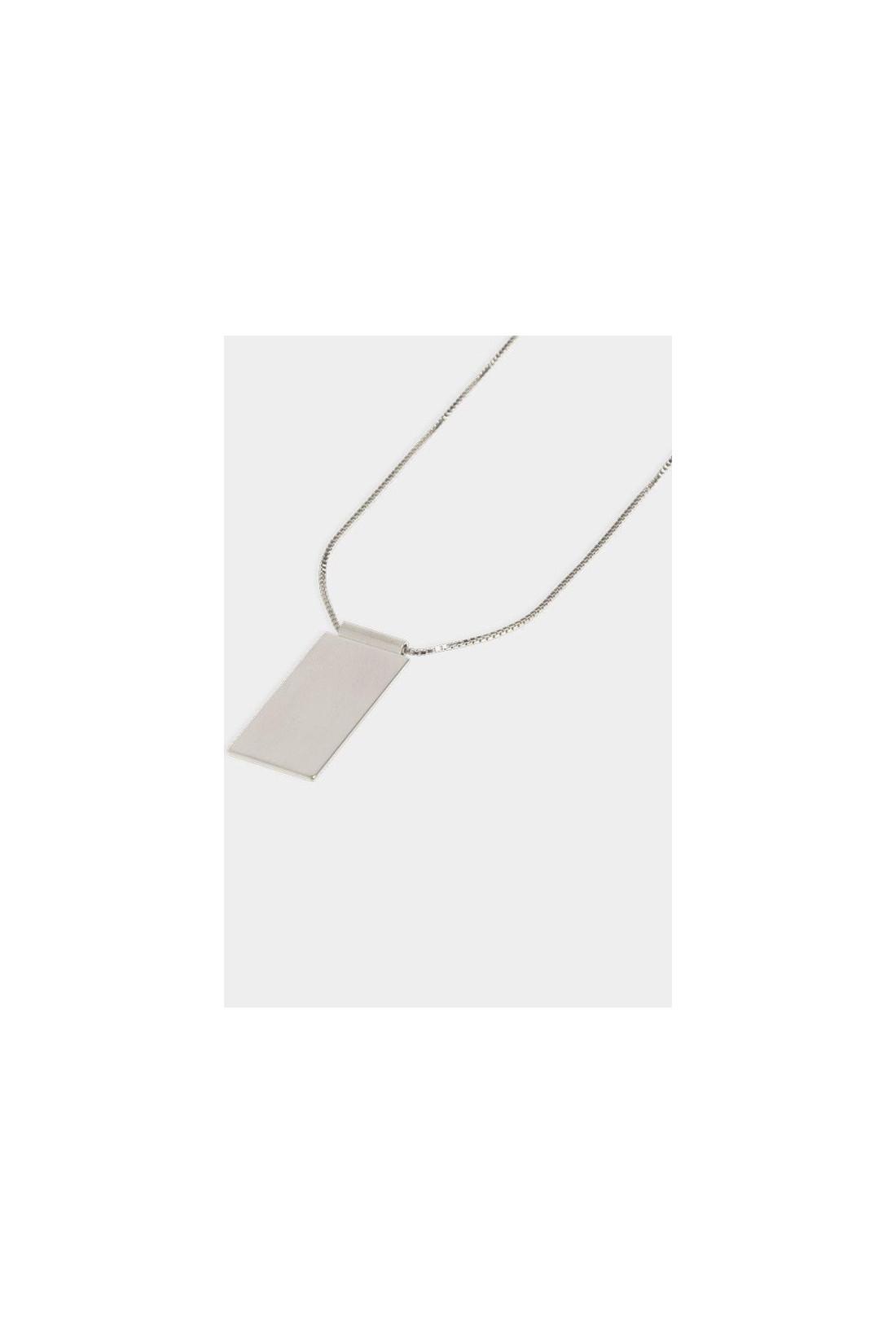 / Necklace caption pendant Silver