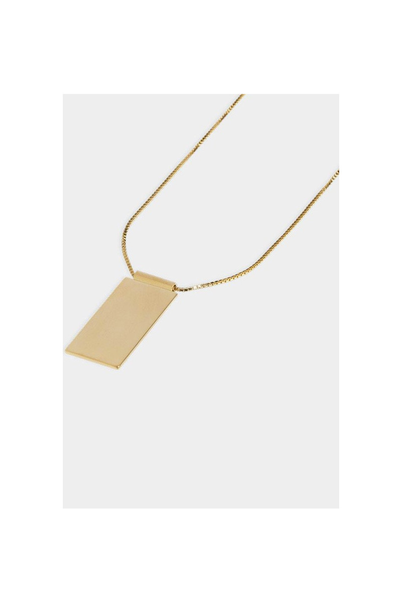 Necklace caption pendant Gold