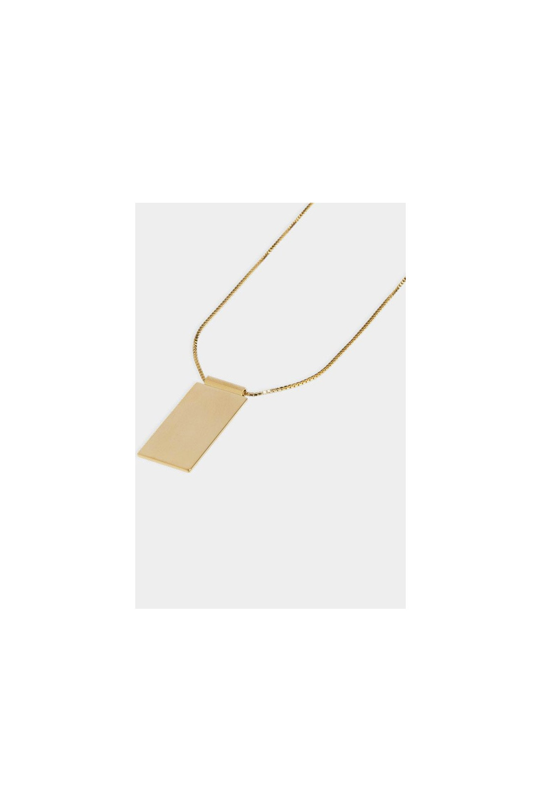 THE BOYSCOUTS FOR WOMAN / Necklace caption pendant Gold