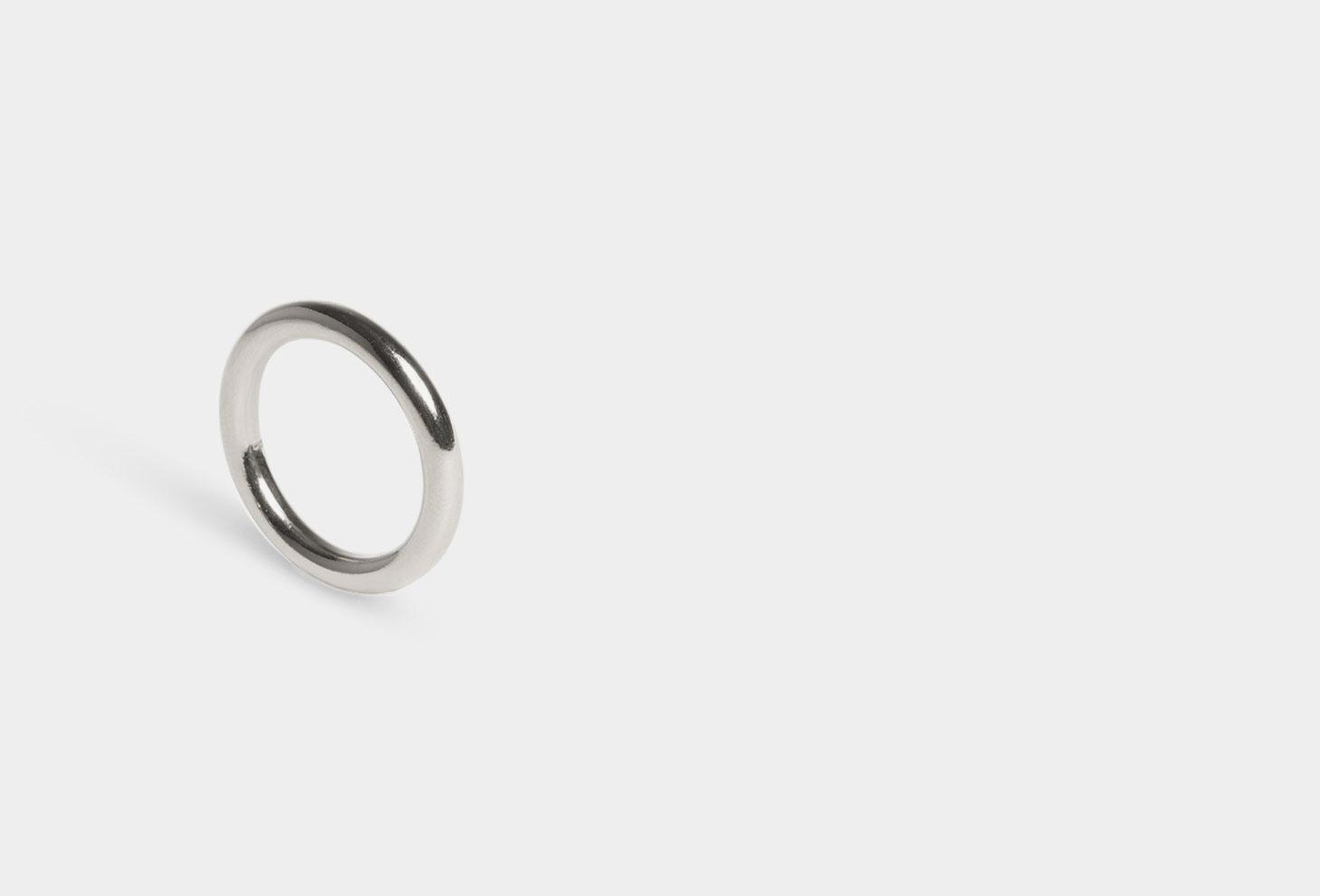 THE BOYSCOUTS / Ring facet round Silver