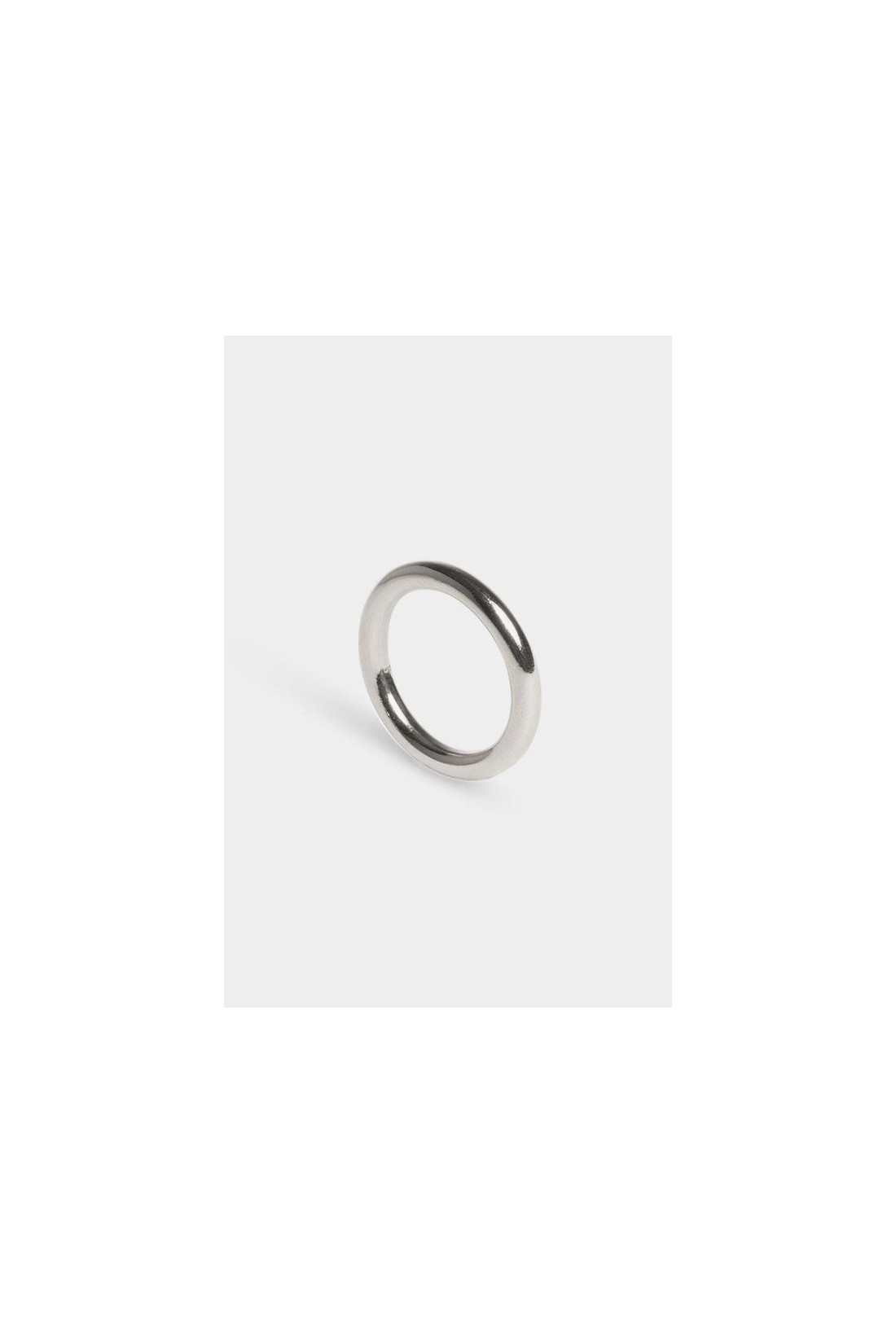 THE BOYSCOUTS FOR WOMAN / Ring facet round Silver