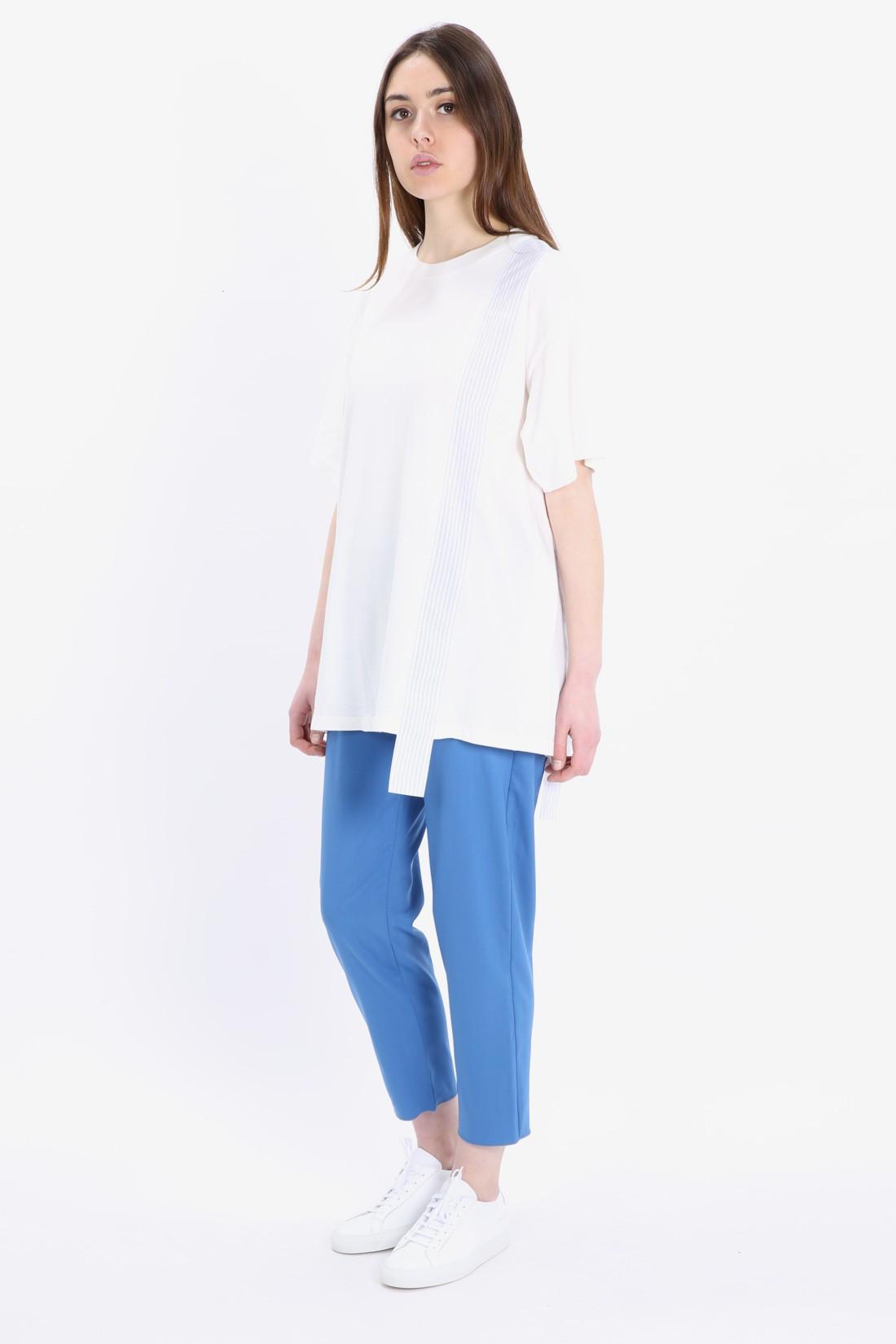 MM6 MAISON MARGIELA / T-shirt stripes left White